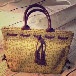 DOONEY & BOURKE purse canvas small